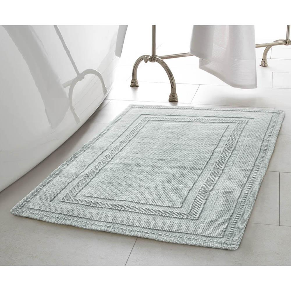 Bath rugs Jean Pierre Cotton Stonewash Racetrack 17 inches x 24 inches / 20 inches LBEJWBD
