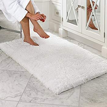 bath rugs lochas luxurious soft bath rug non-slip rubber backing water absorbing bath QSHSHPT