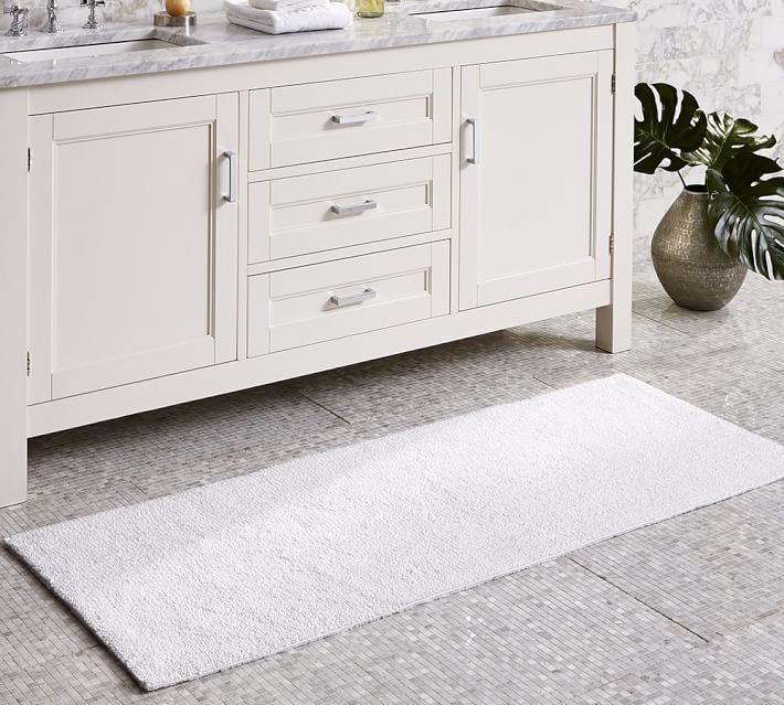 bathroom rugs pb classic bathroom rugs - double wide |  Pottery PEANVHC