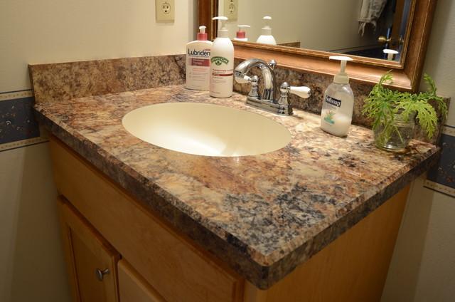 Bathroom Countertops Bathroom Countertop Traditional Bathroom LNQJYHD