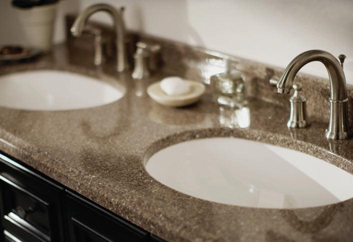 Bathroom countertops know the benefits and costs of 5 popular bathroom countertop materials, UWLMABU