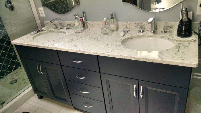 Bathroom Countertops Quartz Bathroom Countertop JBKNNRN