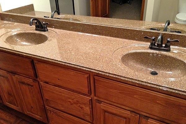 Bathroom Countertops Solid Surface Bathroom Countertops (5) QGSRFUN