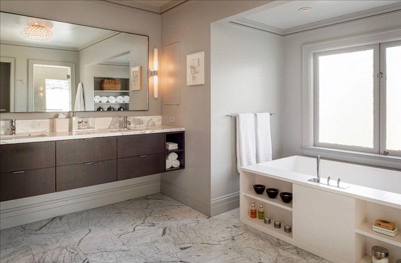Bathroom Decorations 30 quick and easy bathroom decorating ideas - freshome.com EUJKIHZ