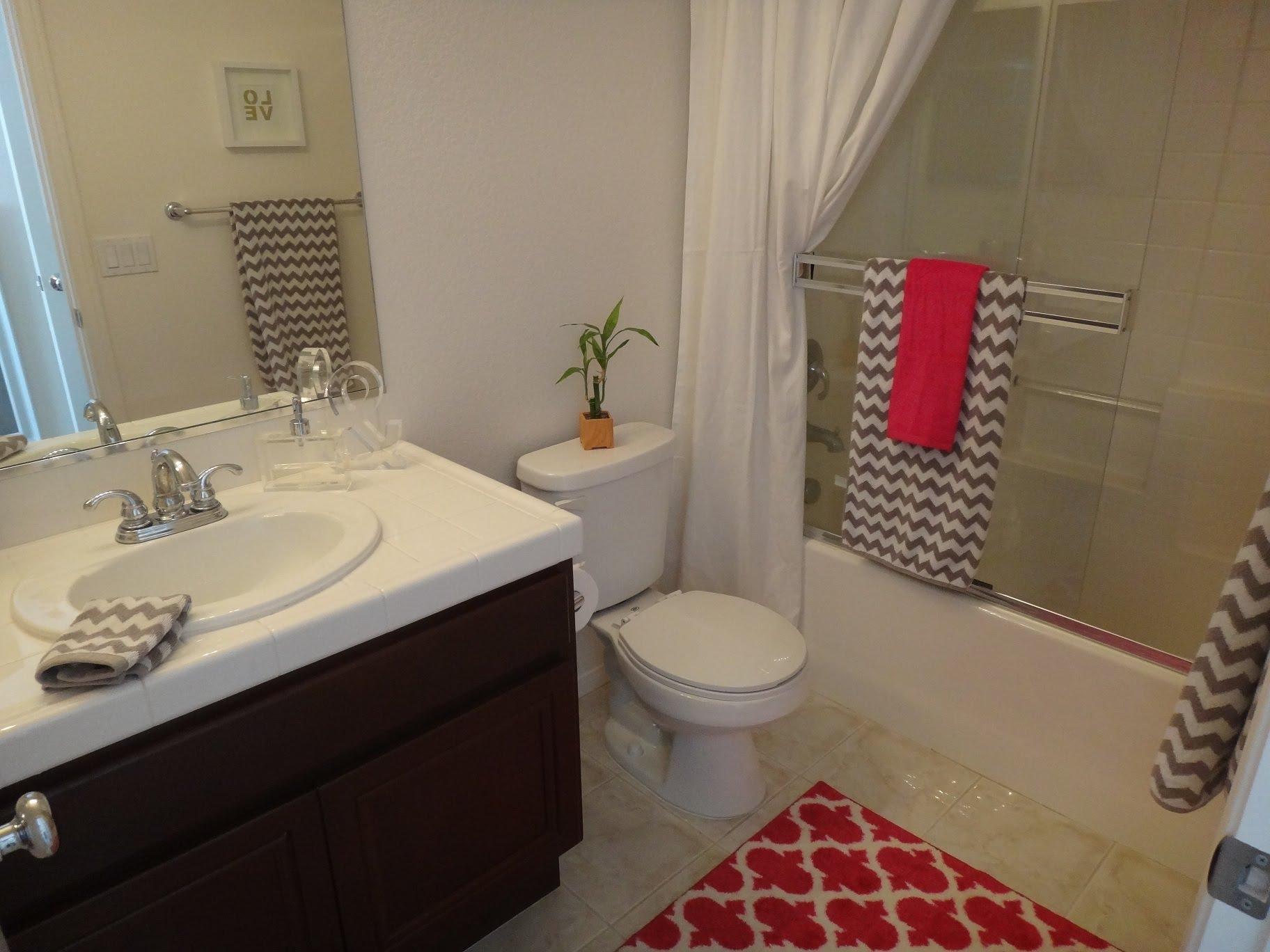 Bathroom decor girlu0027s bathroom decor - tour and organization - youtube BFOIXFV