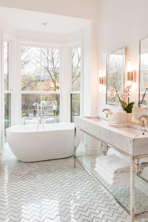 Bathroom floor tiles ideas patterned geometric RMSACTSACT