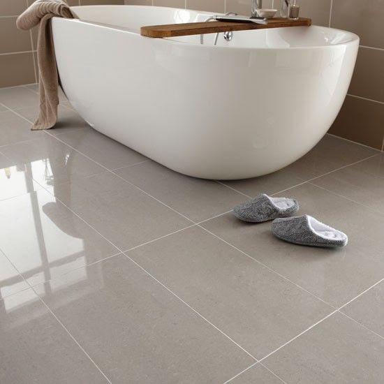 Bathroom floor tile ideas royal porcelain from Topps tiles |  Bathroom flooring ideas - 10 best SIOHCAZ