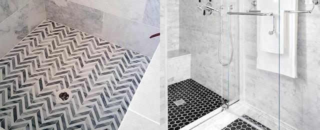 Bathroom Floor Tile Ideas Shower Floor Tile Ideas LHWLDBS