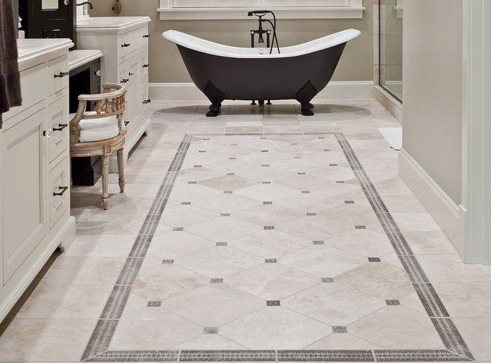 Bathroom Floor Tile Ideas Vintage bathroom decor ideas with simple vintage bathroom floor tile pattern YCMOXFZ