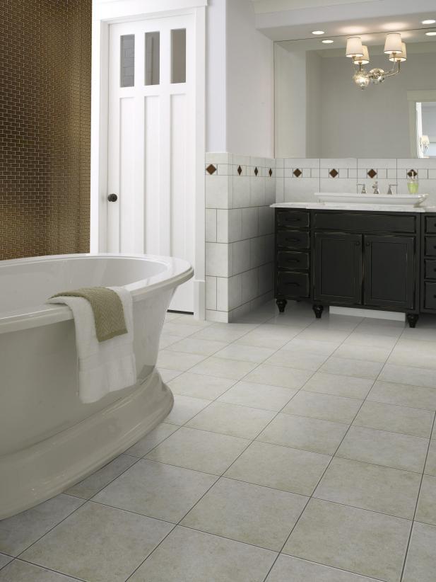 Bathroom floor tiles intricate tile designs.  Design your bathroom with filigree ceramics ... OVEIRGR