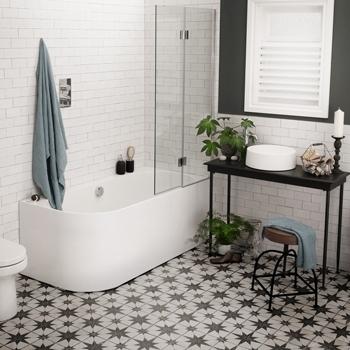 Bathroom floor tiles.  Scintilla tiles AUOZHFT