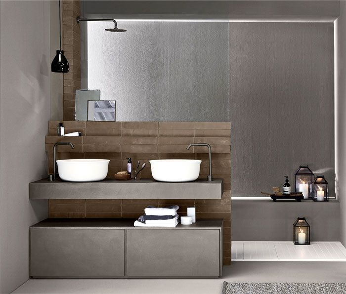 Bathroom trends 2019/2020 - designs, colors and tile ideas.