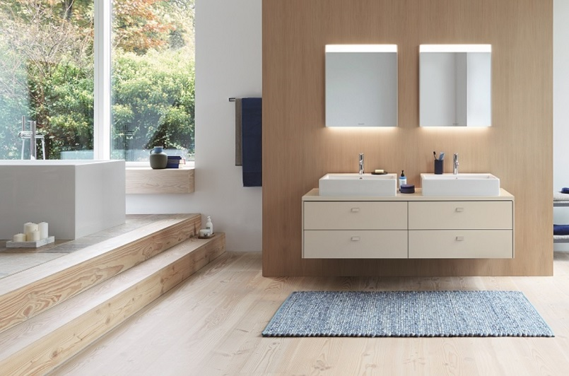 Bathroom furniture design - Relaxing contemporary style from Brioso