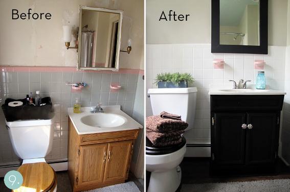 Bathroom Makeovers How To Budget A Bathroom Makeover    Rub a Dub Tub Reglazing THIWZEE