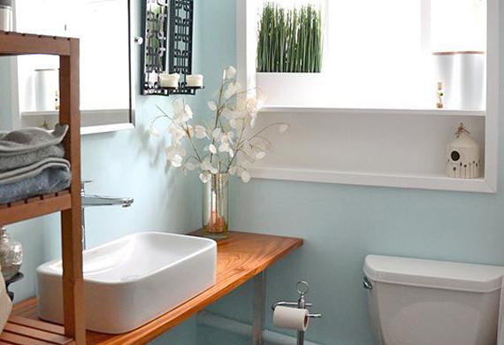 Bathroom Rejuvenators - Small Bathroom Ideas & Makeover Cures    decorate your small room ZEMXVJQ