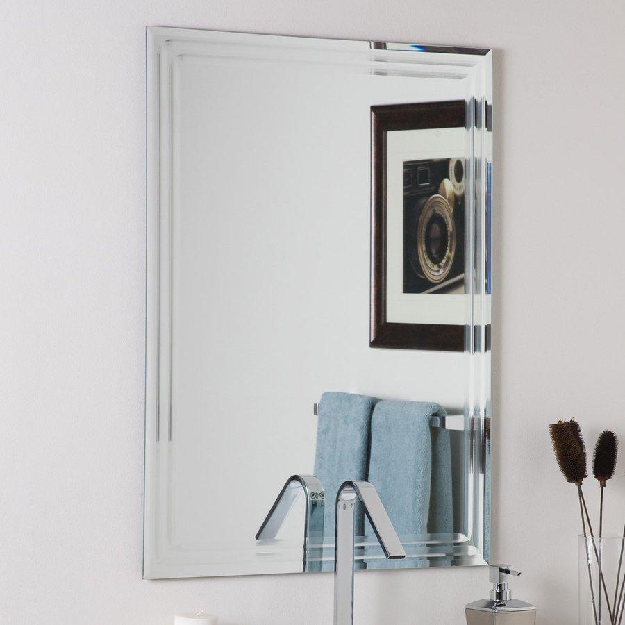 Bathroom Mirror View product reviews for 23.6 Inch Rectangular Bathroom Mirror GQKMOKO
