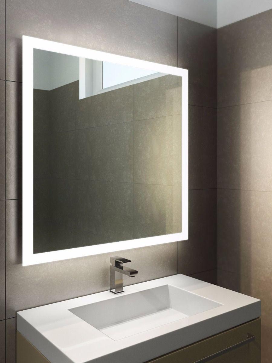 Bathroom mirror Halo LED light Bathroom mirror 843 ... HBLXRPQ