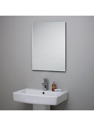 Bathroom mirror John Lewis Beveled bathroom mirror DPBGLLT