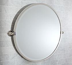 Bathroom Mirror Kensington Pivot Round Mirror ... JSDGPKT