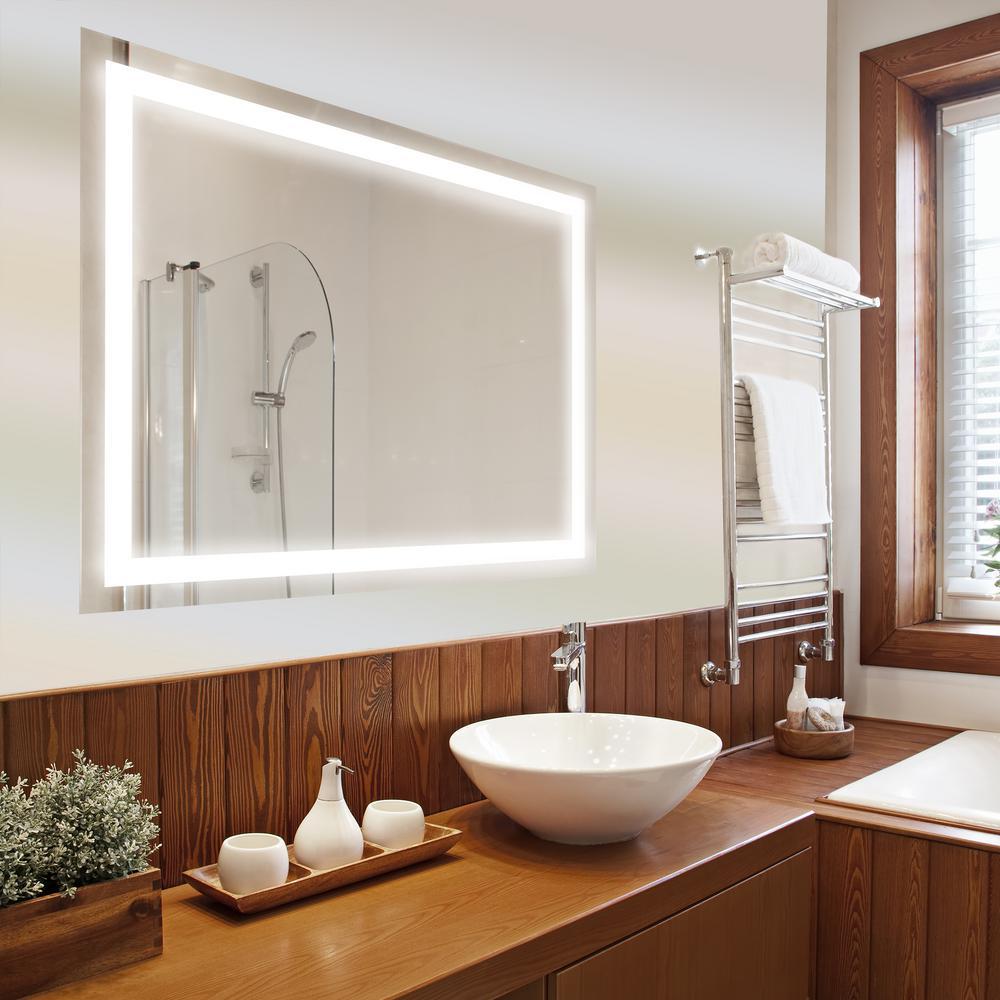 Bathroom mirror LED washbasin bathroom mirror with backlight PBGUBOR P