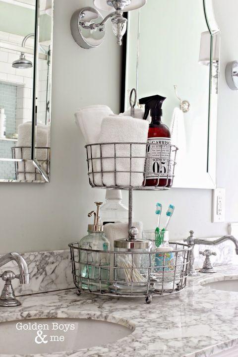 25 Best Bathroom Organization Ideas