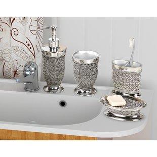 Bathroom sets mercado 4-piece bathroom accessory set UQULZPT