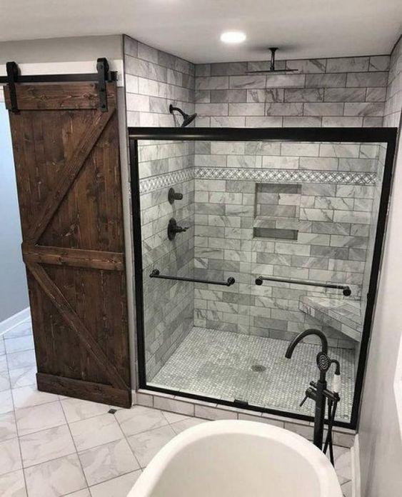 30+ Master Bathroom Remodels: Designs, Tips and Details #onabudget.