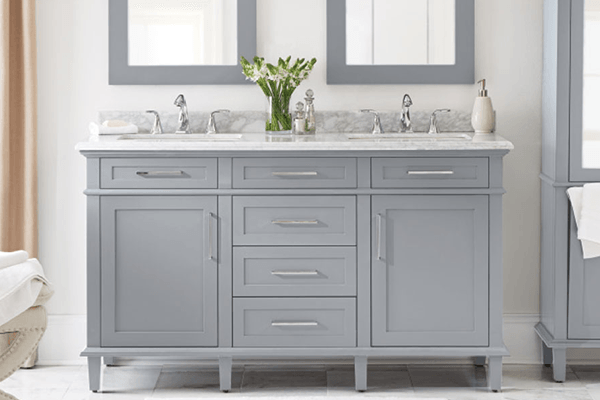 Bathroom washbasin cabinets Transitional washbasins JUMSFJN