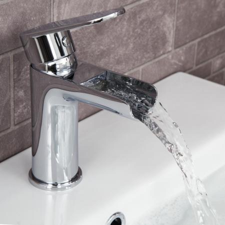 Bathroom fittings architect edsberg basin fitting waterfall fitting BTFKCVL