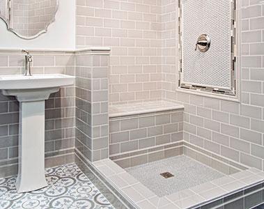 Bathroom Tile Designs Modern Subway Tile Shower PYYWKFX