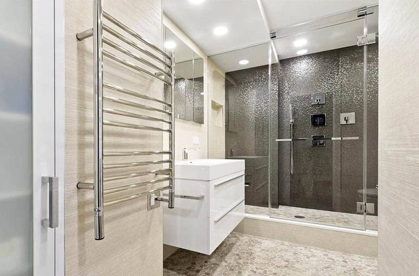 Heated Towel Warmers & Rack Ideas - Designing Id