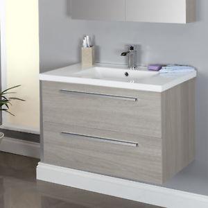 Bathroom vanity units Image is loading 800mm-wall-mounted bathroom vanity unit-amplifier-vanity unit- WWDBORR