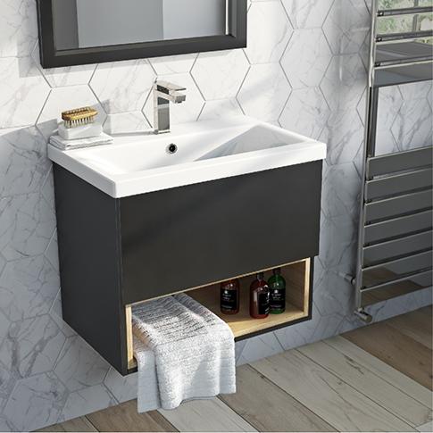 Vanity units for bathrooms wall-mounted vanity units ZLJCDPA