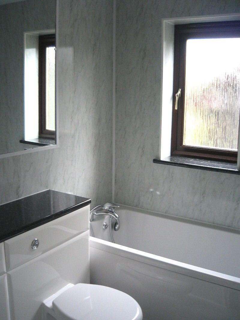 Bathroom wall panels a new way to easily remodel your bathroom: bathroom panels.  KBHURJG