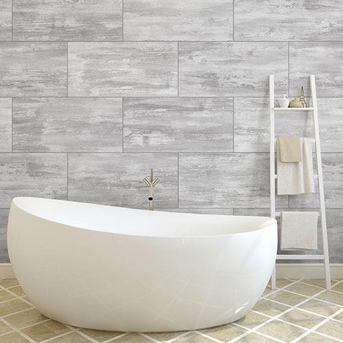 Bathroom wall panels gray concrete PVC wall panel AJMEHXW