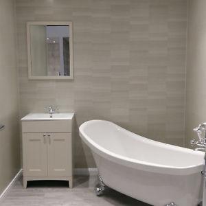 Bathroom wall panels Image is loading 10-modern-silver-small-tiles-effect-bathroom-wall- GYPQJSJ