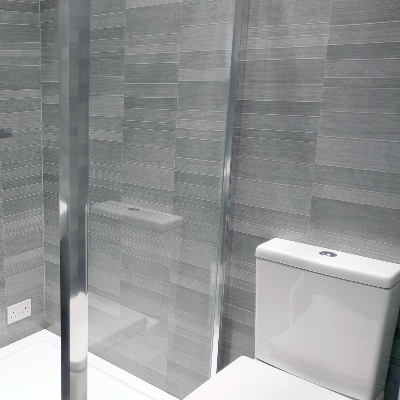 Bathroom wall panels modern graphite small tile wall panels JEFXFKT