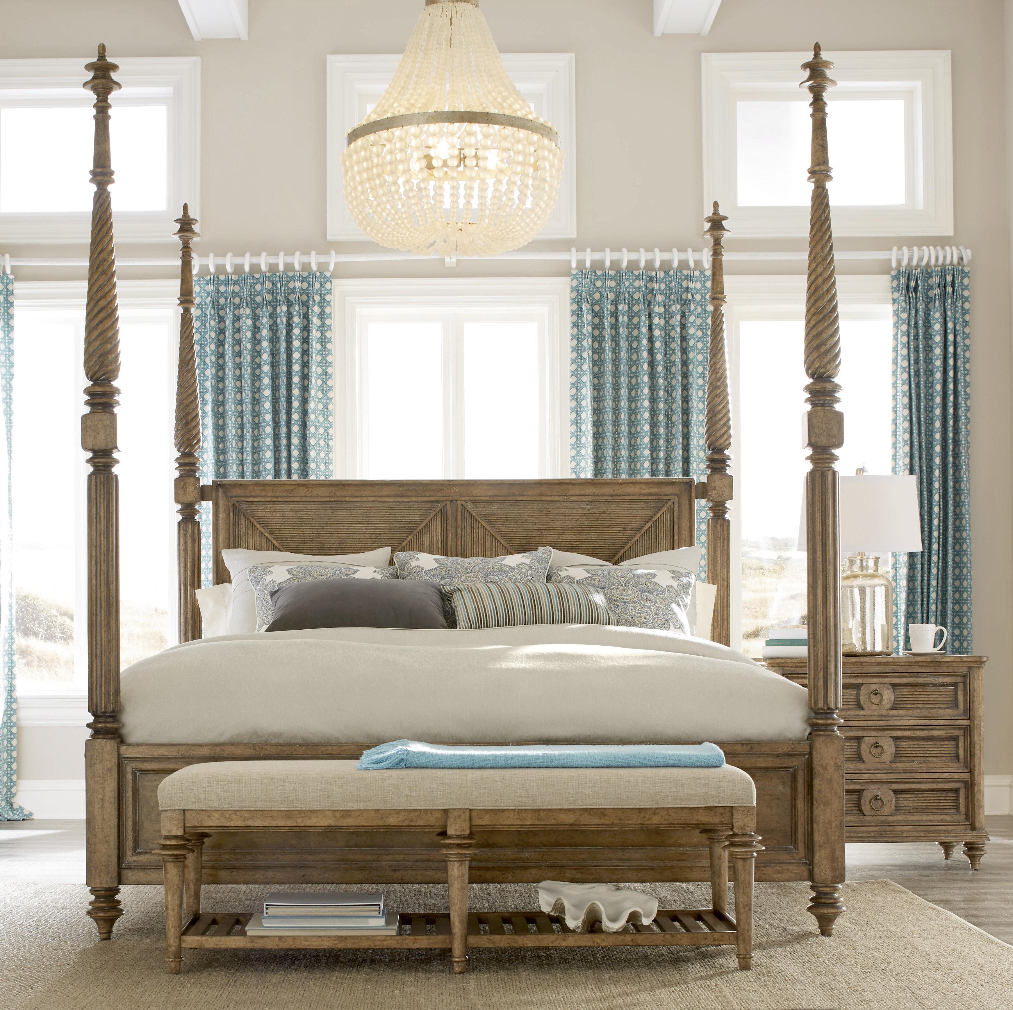 Bay Isle Home Akrotiri Canopy Bed    Wayfair AFTBZXQ