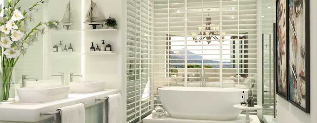beautiful bathroom Constantia development: modern bathroom by modo LLWERVQ