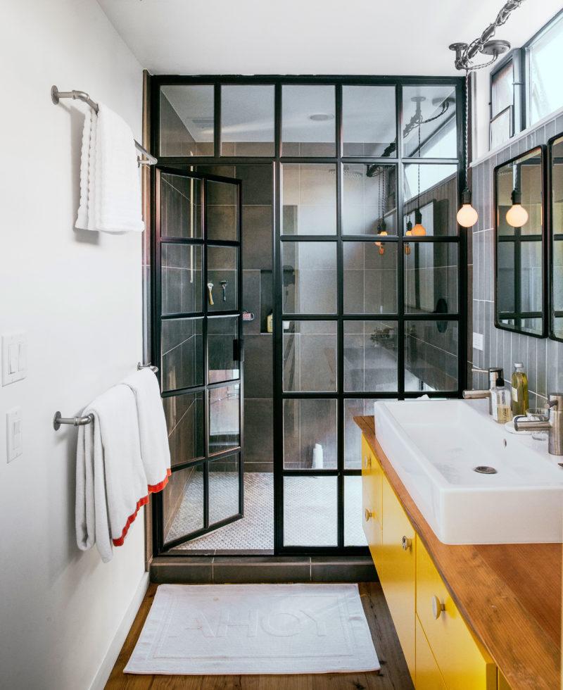 nice bathroom cozy industrial ZDIQJNC