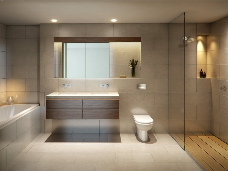 beautiful bathrooms - less is more KIUVXDH