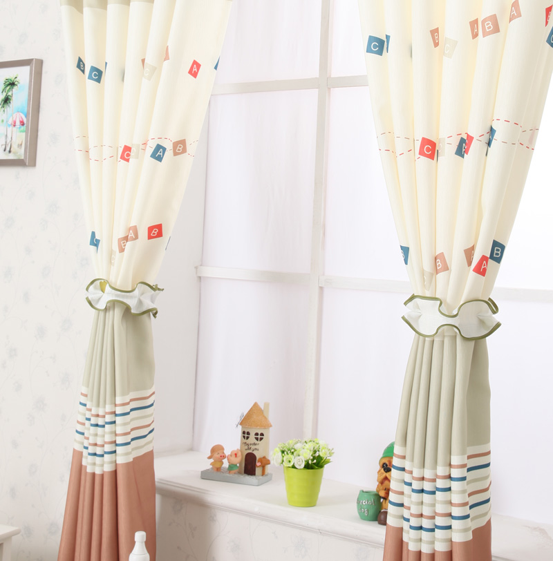 beautiful short curtains bedroom children curtain pink blue curtains to life GYVPUEN