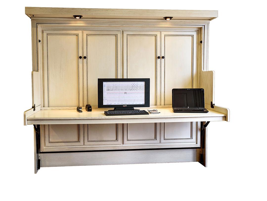 Bed desk hideaway desk bed large YERIACG