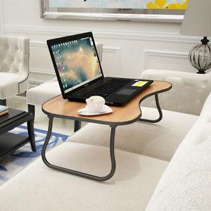 Bed Desk Image is loading Folding-Lapdesk-Portable-Standing Bed-Desk-Computer-SDGZQNQ