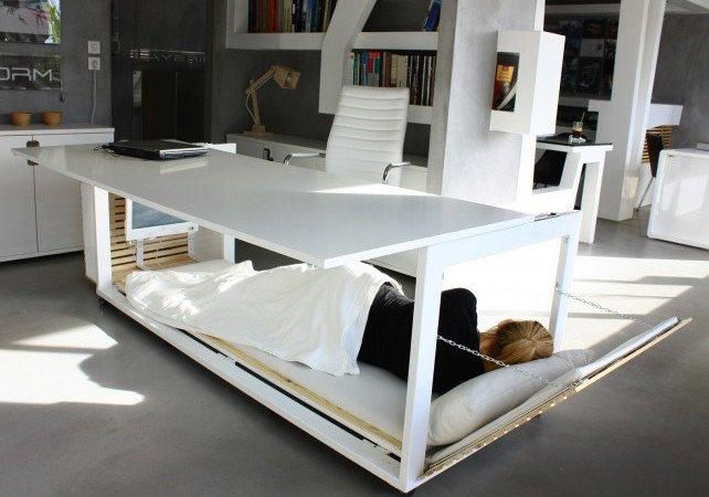 Bed desk studio nl GVLAMPO