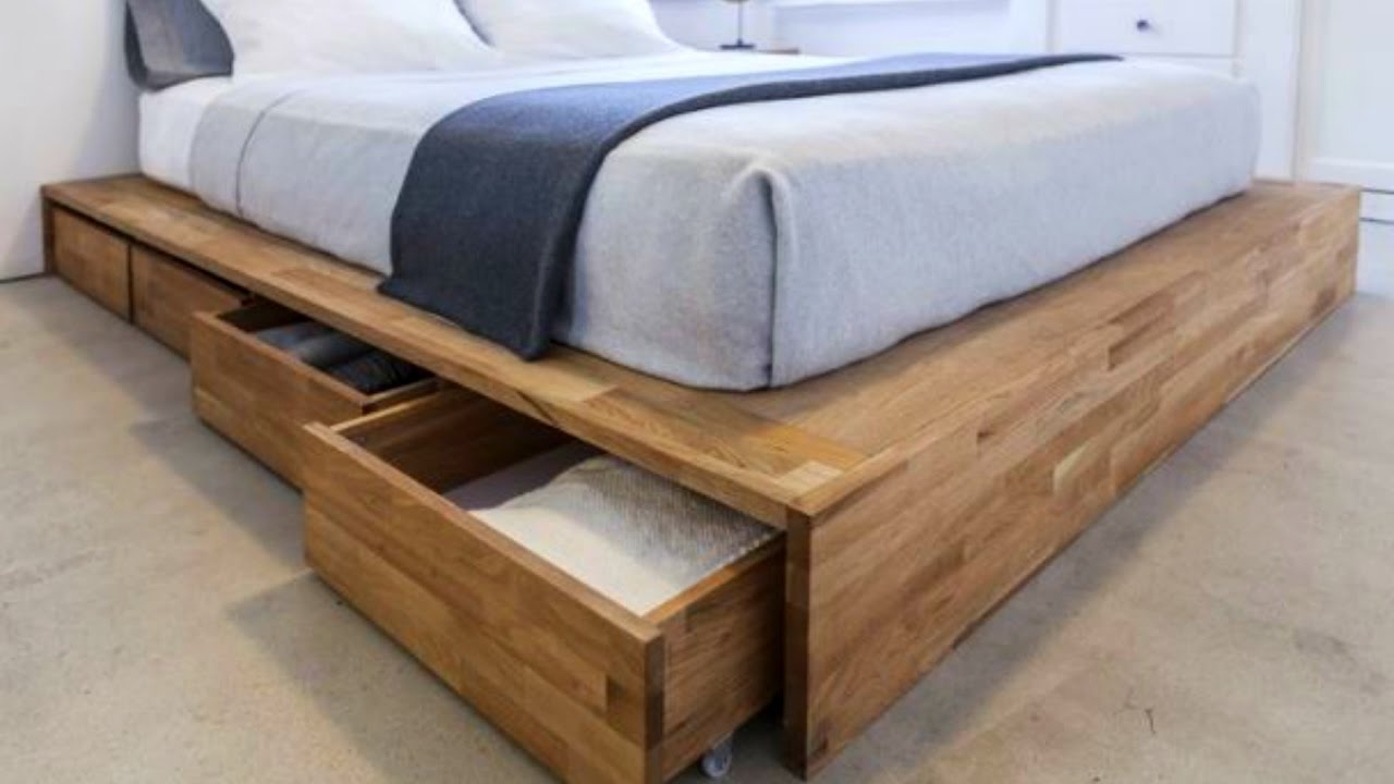Bed with storage space 50 bed storage ideas 2016 - great design for bed frame storage WTCVEXC