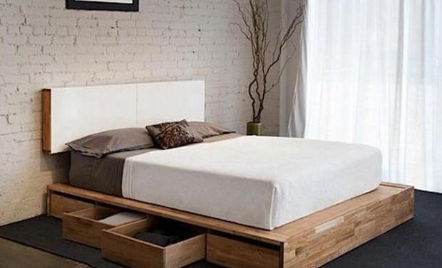 Bed with storage space diy storage beds HNVJGNZ