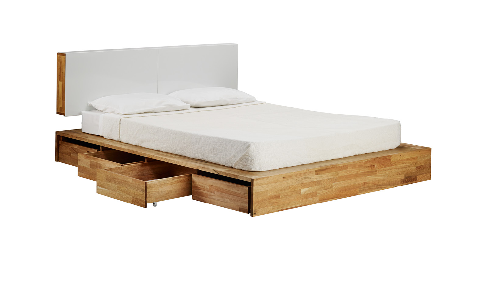 Bed with storage space bed GTLDQTK