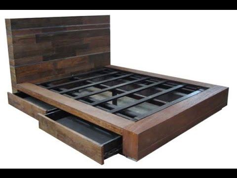 Bed frame DIY bed frame ZGWKHRS