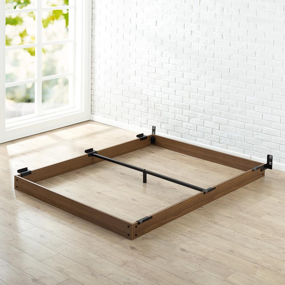 Bed frame king size wooden bed frame EXOZMTC